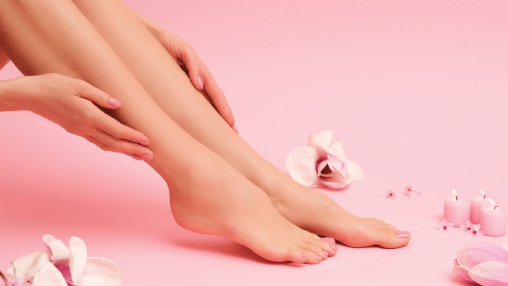 Hair removal for beautiful legs