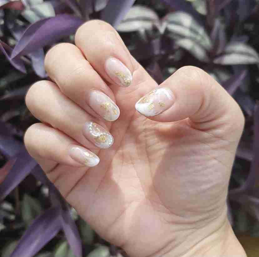 Anjolinail Pink Nail Art Design