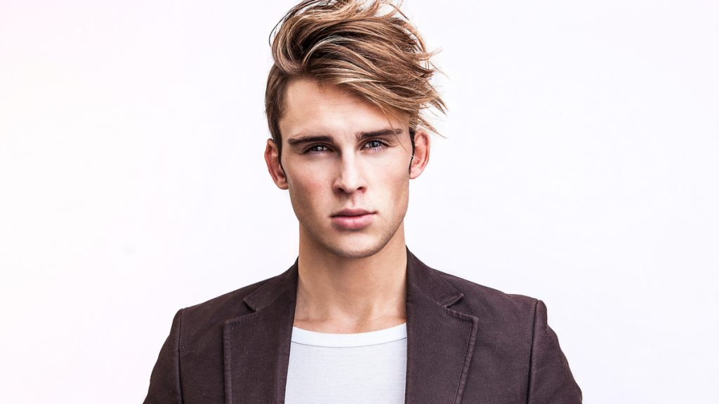 Longer Natural Flow Hairstyle with Short Sides