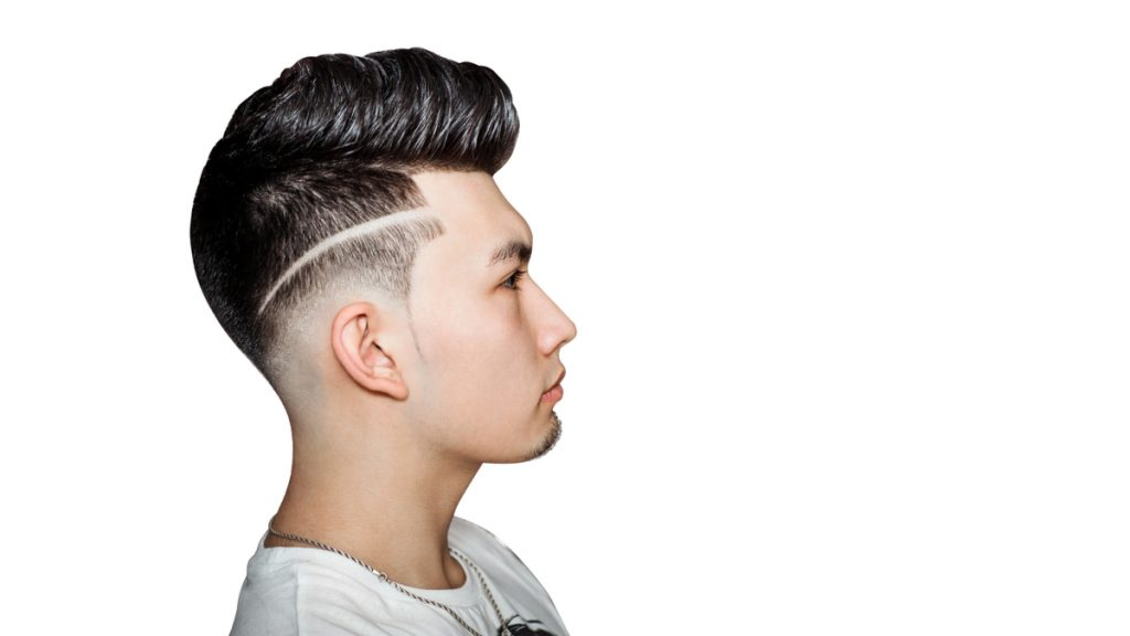Pompadour with Fades Hairstyles Men